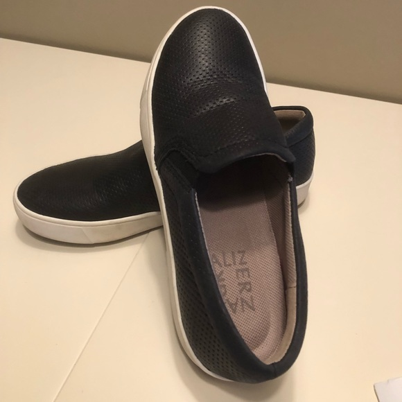 c1b03df55e5 Naturalizer  Marianne  Perforated Leather Slip On.  M 5aa3299a00450f2021d31e8c